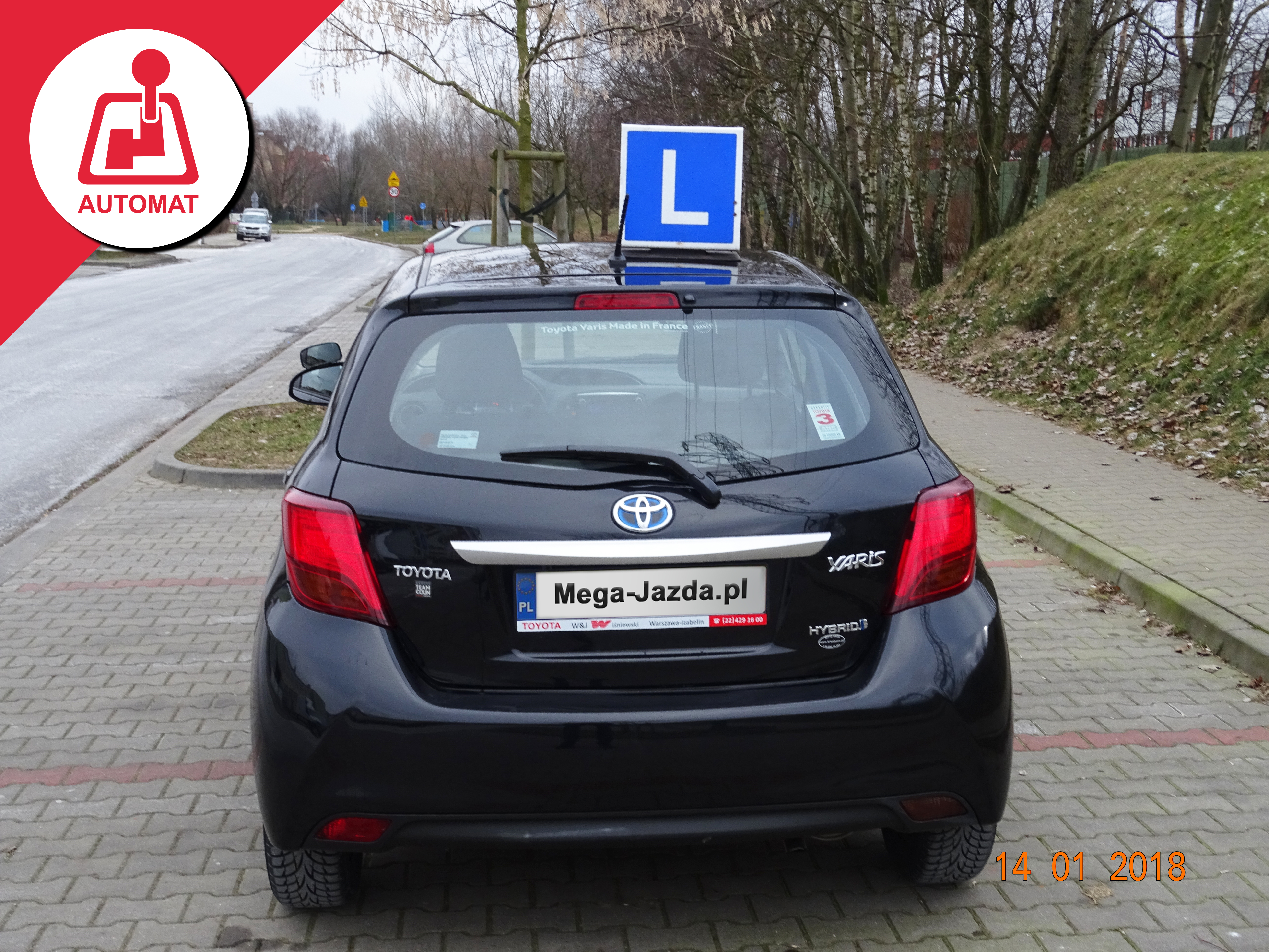 ToyotaYaris_Hybrid_Automat_nauka-jazdy-Warszawa_3